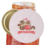 Chipmunk Couple Jar Opener (Personalized)