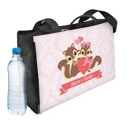 Chipmunk Couple Ladies Workout Bag (Personalized)
