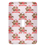 Chipmunk Couple Light Switch Covers (Personalized)