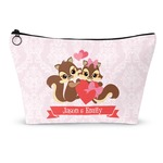 Chipmunk Couple Makeup Bags (Personalized)
