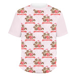 Chipmunk Couple Men's Crew T-Shirt (Personalized)