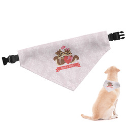 Chipmunk Couple Dog Bandana (Personalized)