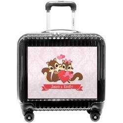 Chipmunk Couple Pilot / Flight Suitcase (Personalized)
