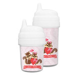 Chipmunk Couple Sippy Cup (Personalized)