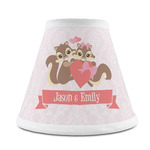 Chipmunk Couple Chandelier Lamp Shade (Personalized)