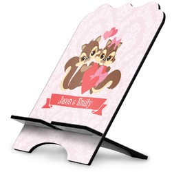 Chipmunk Couple Stylized Tablet Stand (Personalized)