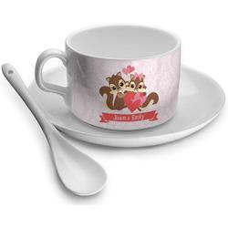 Chipmunk Couple Tea Cup - Single (Personalized)