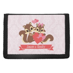 Chipmunk Couple Trifold Wallet (Personalized)