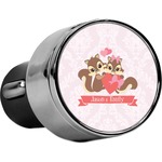 Chipmunk Couple USB Car Charger (Personalized)