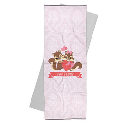 Chipmunk Couple Yoga Mat Towel (Personalized)