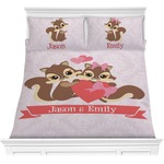 Chipmunk Couple Comforters (Personalized)
