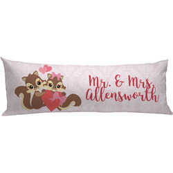 Chipmunk Couple Body Pillow Case (Personalized)