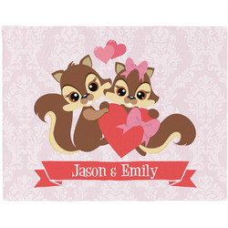 Chipmunk Couple Placemat (Fabric) (Personalized)