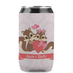 Chipmunk Couple Can Sleeve (12 oz) (Personalized)