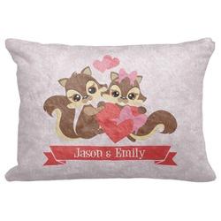 Chipmunk Couple Decorative Baby Pillowcase - 16