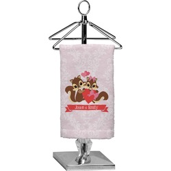 Chipmunk Couple Finger Tip Towel - Full Print (Personalized)