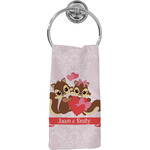 Chipmunk Couple Hand Towel - Full Print (Personalized)