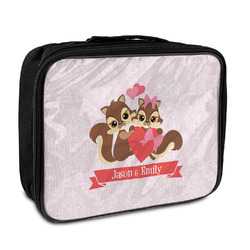 Chipmunk Couple Insulated Lunch Bag (Personalized)