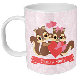Chipmunk Couple Plastic Kids Mug (Personalized)