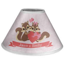 Chipmunk Couple Coolie Lamp Shade (Personalized)