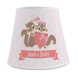 Chipmunk Couple Empire Lamp Shade (Personalized)