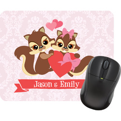 Chipmunk Couple Mouse Pad (Personalized)