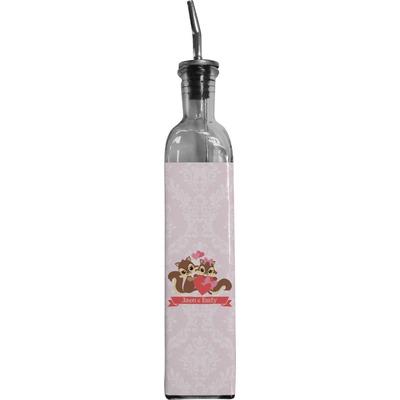 Chipmunk Couple Oil Dispenser Bottle (Personalized)