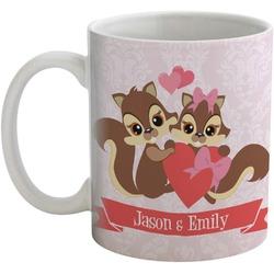 Chipmunk Couple Coffee Mug (Personalized)