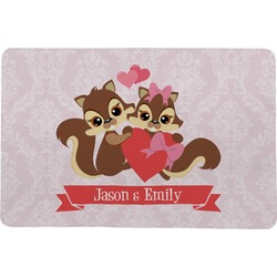 Chipmunk Couple Comfort Mat (Personalized)