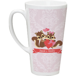 Chipmunk Couple Latte Mug (Personalized)