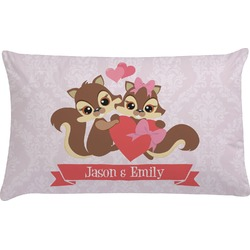 Chipmunk Couple Pillow Case (Personalized)