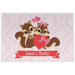 Chipmunk Couple Placemat (Laminated) (Personalized)