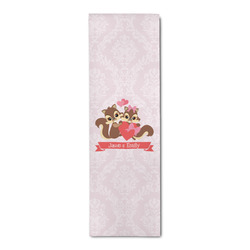 Chipmunk Couple Runner Rug - 3.66'x8' (Personalized)