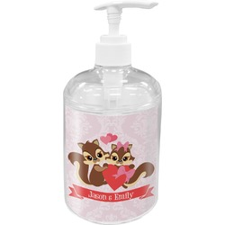 Chipmunk Couple Soap / Lotion Dispenser (Personalized)