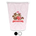 Chipmunk Couple Waste Basket (Personalized)
