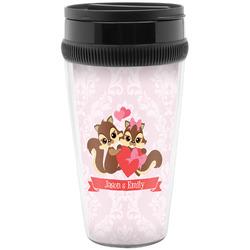Chipmunk Couple Travel Mugs (Personalized)