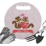 Chipmunk Couple Gardening Knee Cushion (Personalized)