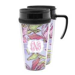 Orchids Acrylic Travel Mugs (Personalized)