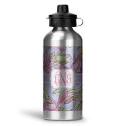 Orchids Water Bottle - Aluminum - 20 oz (Personalized)