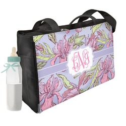 Orchids Diaper Bag w/ Monogram