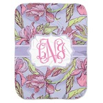 Orchids Baby Swaddling Blanket (Personalized)