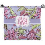 Orchids Full Print Bath Towel (Personalized)