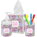 Orchids Bathroom Accessories Set (Personalized)