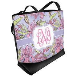 Orchids Beach Tote Bag (Personalized)