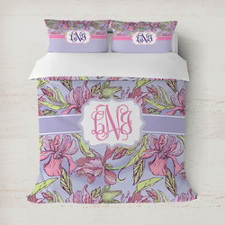 Orchids Duvet Cover (Personalized)