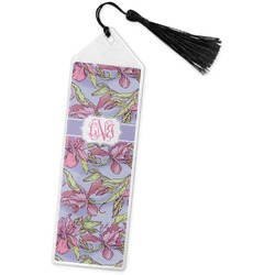 Orchids Book Mark w/Tassel (Personalized)
