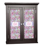 Orchids Cabinet Decal - Custom Size (Personalized)