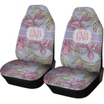 Orchids Car Seat Covers (Set of Two) (Personalized)