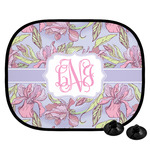 Orchids Car Side Window Sun Shade (Personalized)