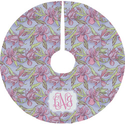 Orchids Tree Skirt (Personalized)